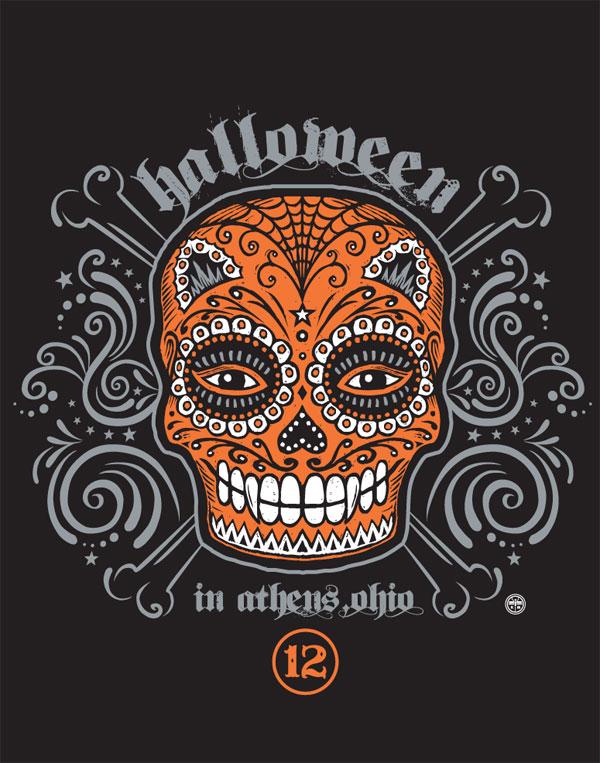 Halloween In Athens 2012 Logo Design, Kevin Morgan Studio: Artwork ...