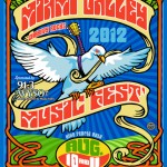 Miami Music Festival Poster Art 2012